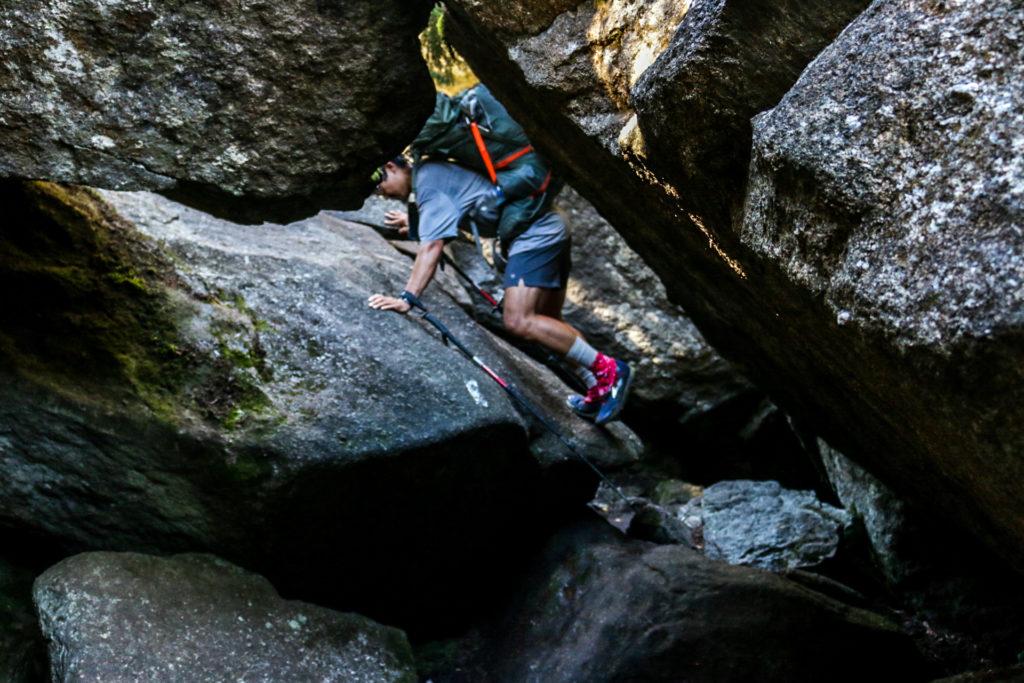 Climbing the Notch.